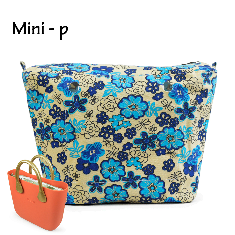 OBAG Colourful Insert Lining Inner Pocket Suitable for Mini O Bag Women's Should Bags Totes Handbags