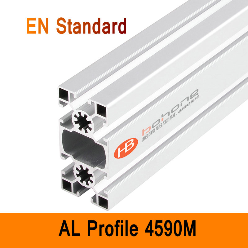 4590M Aluminium Profile EN Standard DIY Brackets Aluminium AL Extrusion CNC 3D DIY Printer Parts T-slot Aluminum Rectangle Pipe aluminium cnc machining rapid prototyping aluminum parts processing page 5