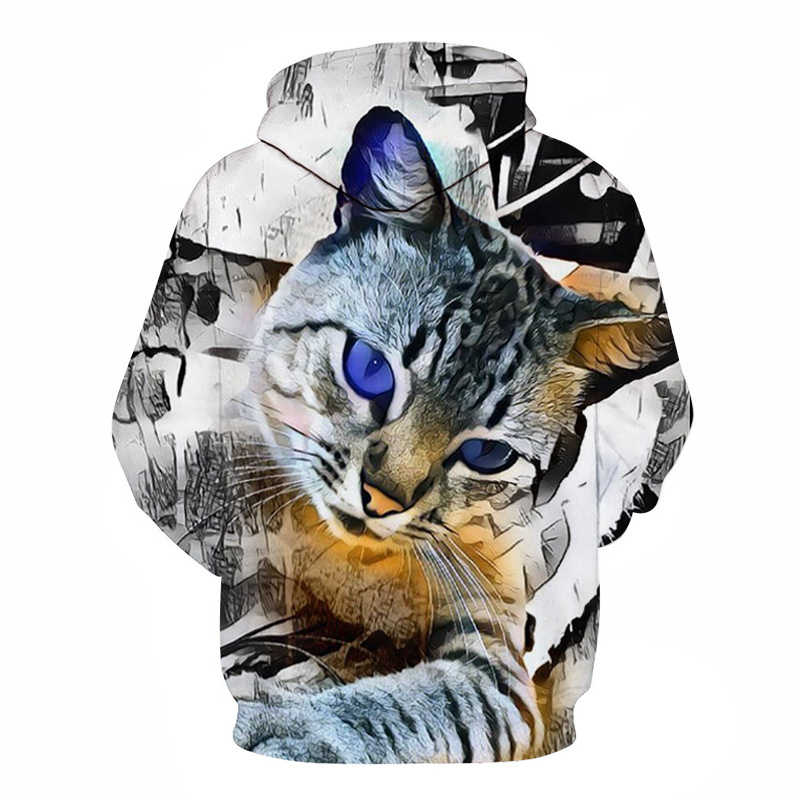 Wolf Printed Hoodies Men 3d Hoodies Brand Sweatshirts Boy Jackets Quality Pullover Fashion Tracksuits Animal Streetwear Out Coat 43