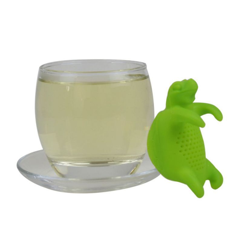 New Cute Silicone Turtle Tea Infuser Tea Filter Diffuser Reusable Tea Strainer Spice Loose Tea Leaf Herbal Tool Teapot Teabags