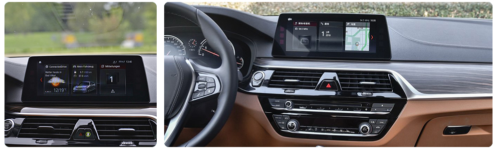 Car Android Touch Screen Multimedia Player Stereo Display navigation GPS For BMW 5 Series G30 2018-2019 Audio Radio Media  8