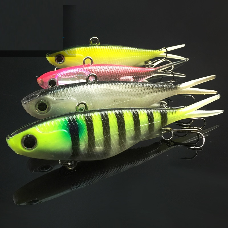 Soft fishing lure 3d eye wobbler vib baits isca artificial for Fishing lure molds