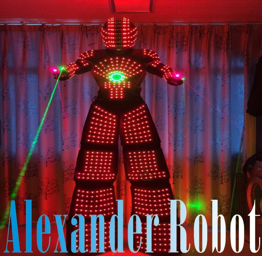 LED Costume /LED Clothing/Light suits/ LED Robot suits/ Kryoman robot/ david robo