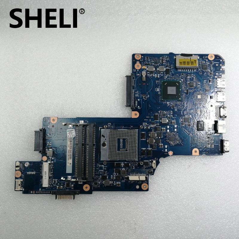 69N0ZWM2AA02 H000038380 For Toshiba Satellite C850 L850 C855 L855 C855-11C Laptop Motherboard Notebook Pc Mainboard SLJ8E HM76