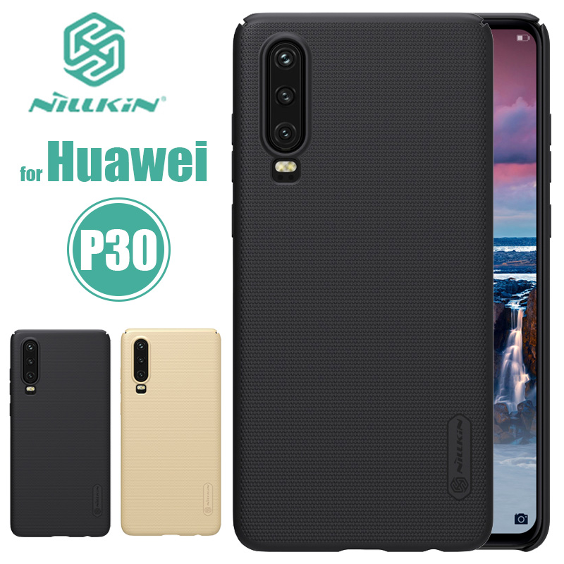 Huawei P30 P20 Pro Case Nillkin Super Frosted Shield Hard PC Back Cover Phone Case Ultra-thin for Huawei P30 P20 Pro Nilkin Case
