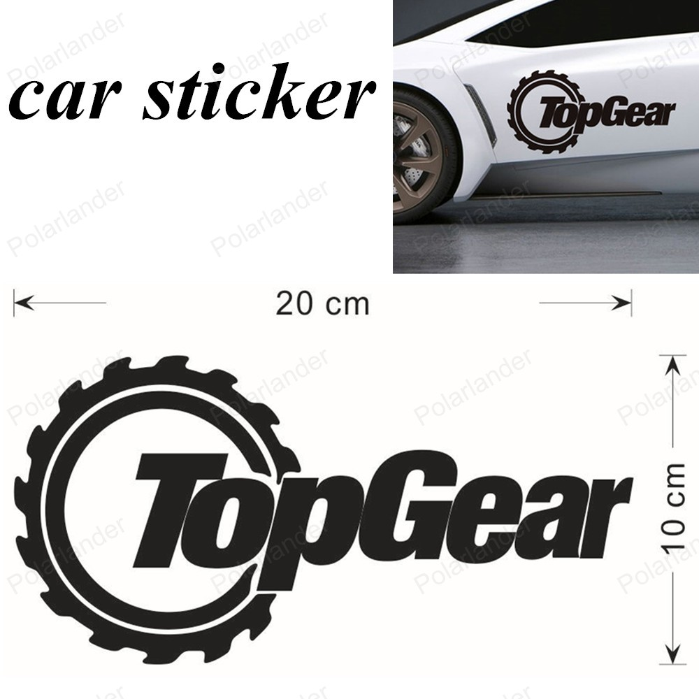 Best car sticker design - Best Selling Car Styling Vw Topgear High Quality Funny Car Stickers And Vinyl Decals For Car