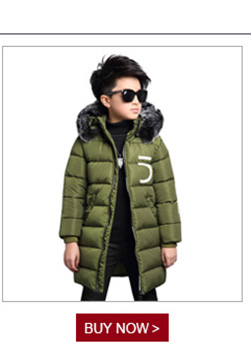 43604b757 weiqinniya Boys Down Parkas Jackets Winter 2018 Kid Down Pattern ...