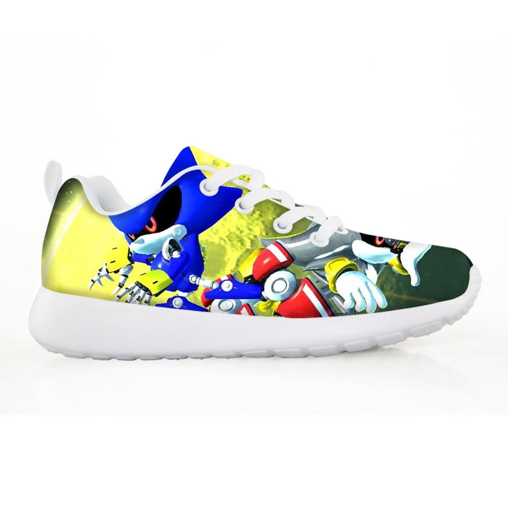 Fashion Children's Sneakers Shoes Cute Cat Pattern For Boys Teenages Casual Comfortable Shoes Girls Light Hot Sale Customized(China)