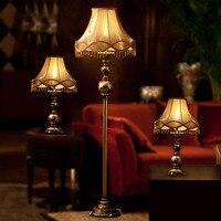 European Style Floor Lamps for Living Room Led Bulb Lamp E27 110V 220V Decor Standing Lamps Nordic Lamp Floor Led Light