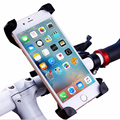 2017 Universal Bicycle Phone Holder Adjustable Bike Handlebar Clip of Del base Pop socket Mobile Support For iPhone 5 5s 6 6 s 7