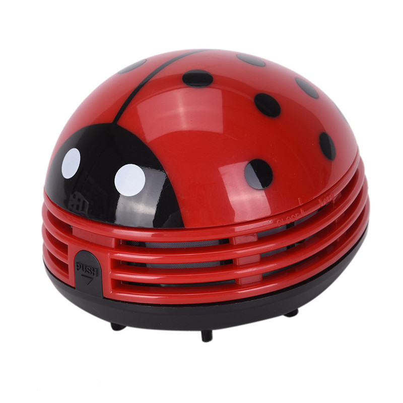 Mini Vacuum Cleaner Ladybug Desktop Coffee Table Car Sucker Home Car Styling