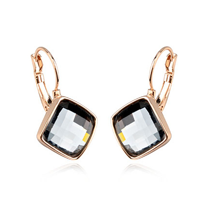 aliexpress buy gold black earrings fashion