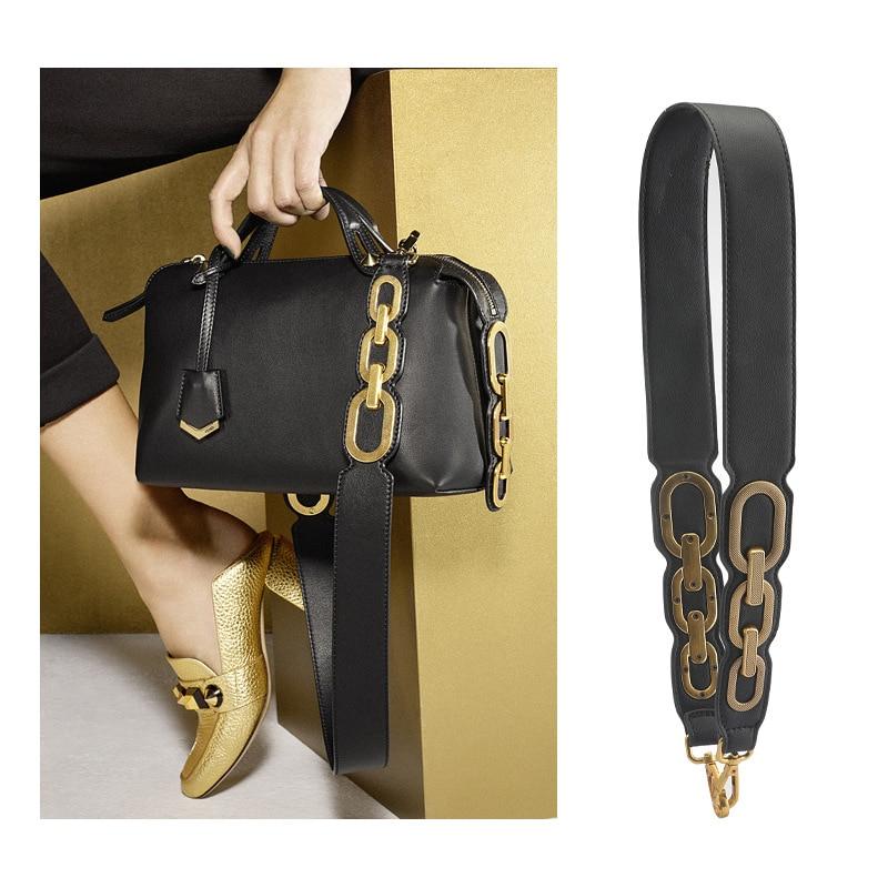 AUTEUIL PARIS Spring Summer Bag Accessories Women Shoulder Strap Leather Designer Bag Straps Famous Brand Strap You