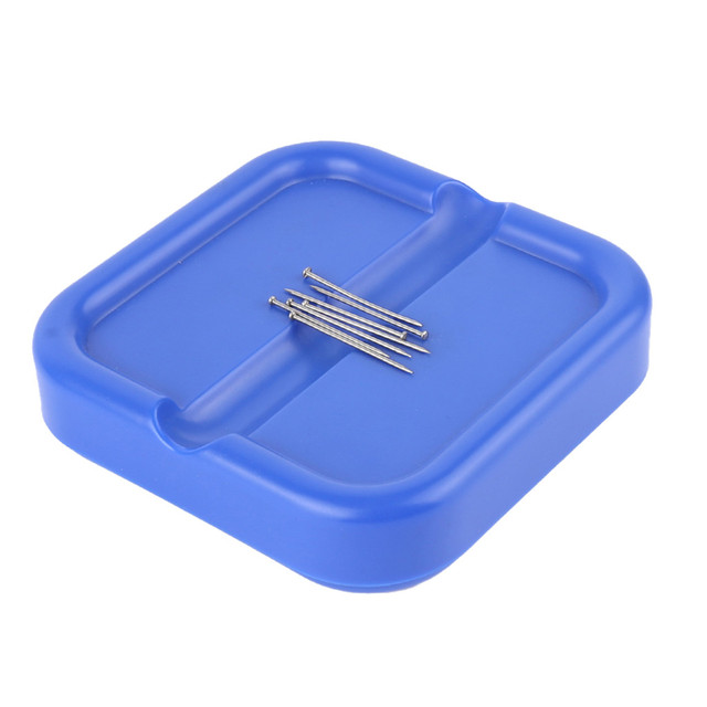 Magnetic Pincushion Pin Caddy Paper Clip Holder For Push Pins Sewing Needles Sewing Tool Accessories DIY Sewing Box Organizer