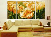 Hand Painted DIY Digital Canvas Oil Painting DIY Paint By Numbers Acrylic Drawing With Brush Paints