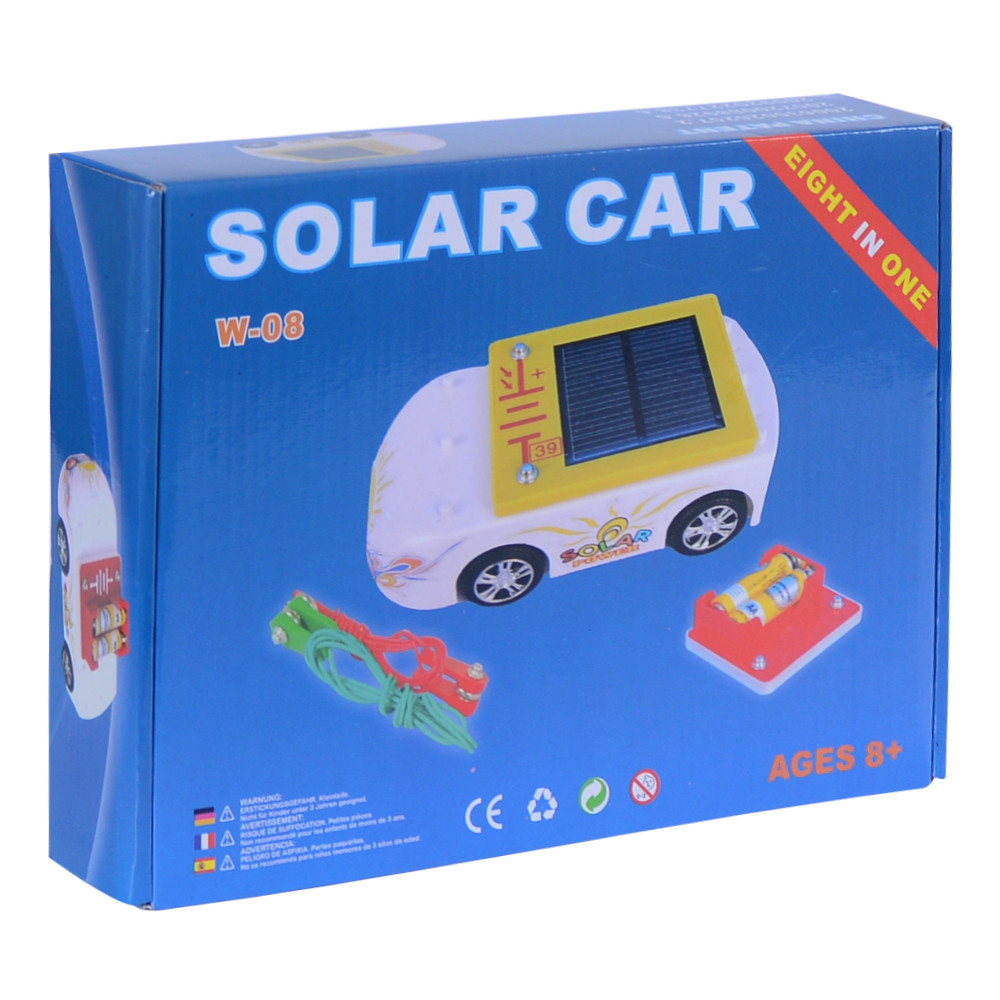 susengo hot solar car kits building blocks electronic wheels experiments educational kids battery charge science baby toy