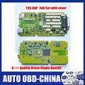 + + Одной Плате PCB Новый VCI TCS CDP Pro 2014.3 С Зеленым MVDiag 2014. R3 CDP + TCS Для Автомобилей и Грузовиков Диагностический Инструмент Нет Bluetooth