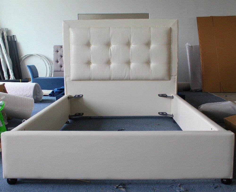 blanco de cuero de tela suave cama muebles de estilo moderno para doble y nios en camas de muebles en alibaba group