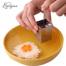 LMETJMA Edelstahl Kreative Edelstahl Tofu-presse Küche Tofu-hersteller Pressform Kit DIY Tofu Cutter Gadgets KC0817-3