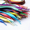 1 pair DIY Candy Silk Lace Sneakers Shoelace Ballet Shoe Laces Shoestrings Flat Shoes Laces Shoelaces for Sneakers 2mm 110cm