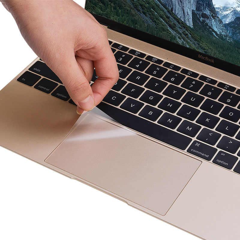 キーボードタッチパッドフィルムステッカーアップルの Mac Macbook Air 11 12 Pro の網膜 13 15 タッチ ID バー A1706 A1707 mac ブック