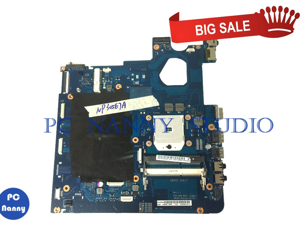 PCNANNY BA92-09506B For Samsung NP305E7A Laptop Motherboard  BA41-01843A DDR3 Tested