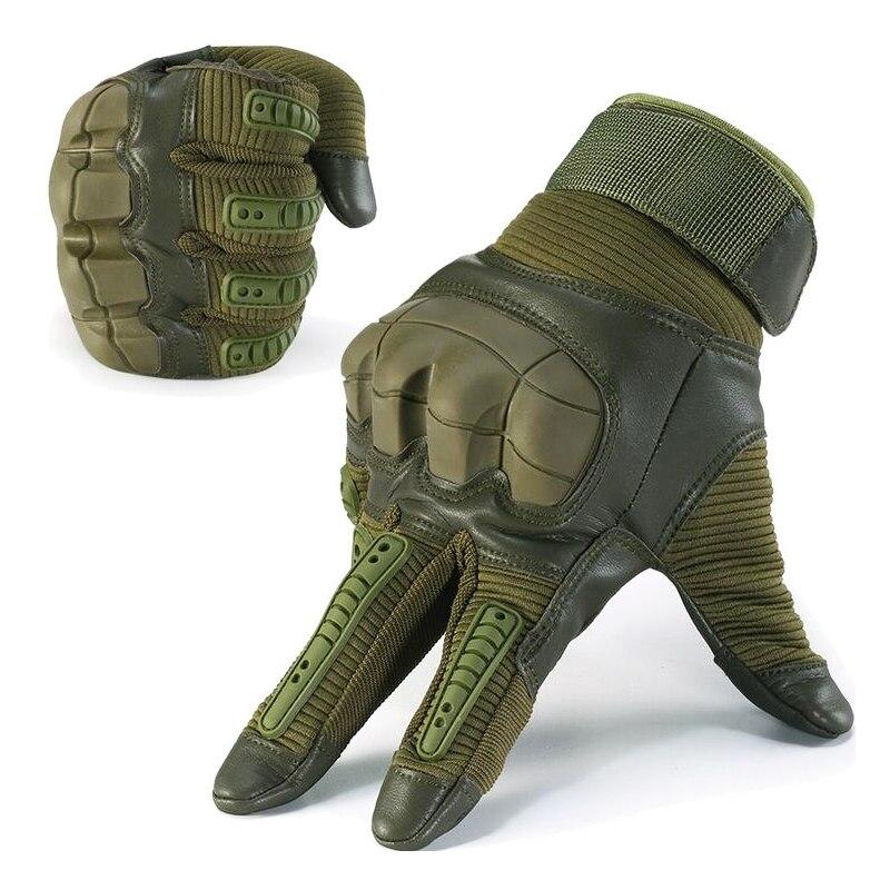 Volle Finger Gummi Knuckle Streit Handschuhe Military Airsoft Jagd Schießen Paintball Taktische Handschuhe Touchscreen Sport Handschuhe