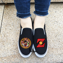 Unisex Anime Canvas Sneakers