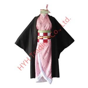 Image 2 - Женский костюм кимоно из аниме «рассекающий демонов»
