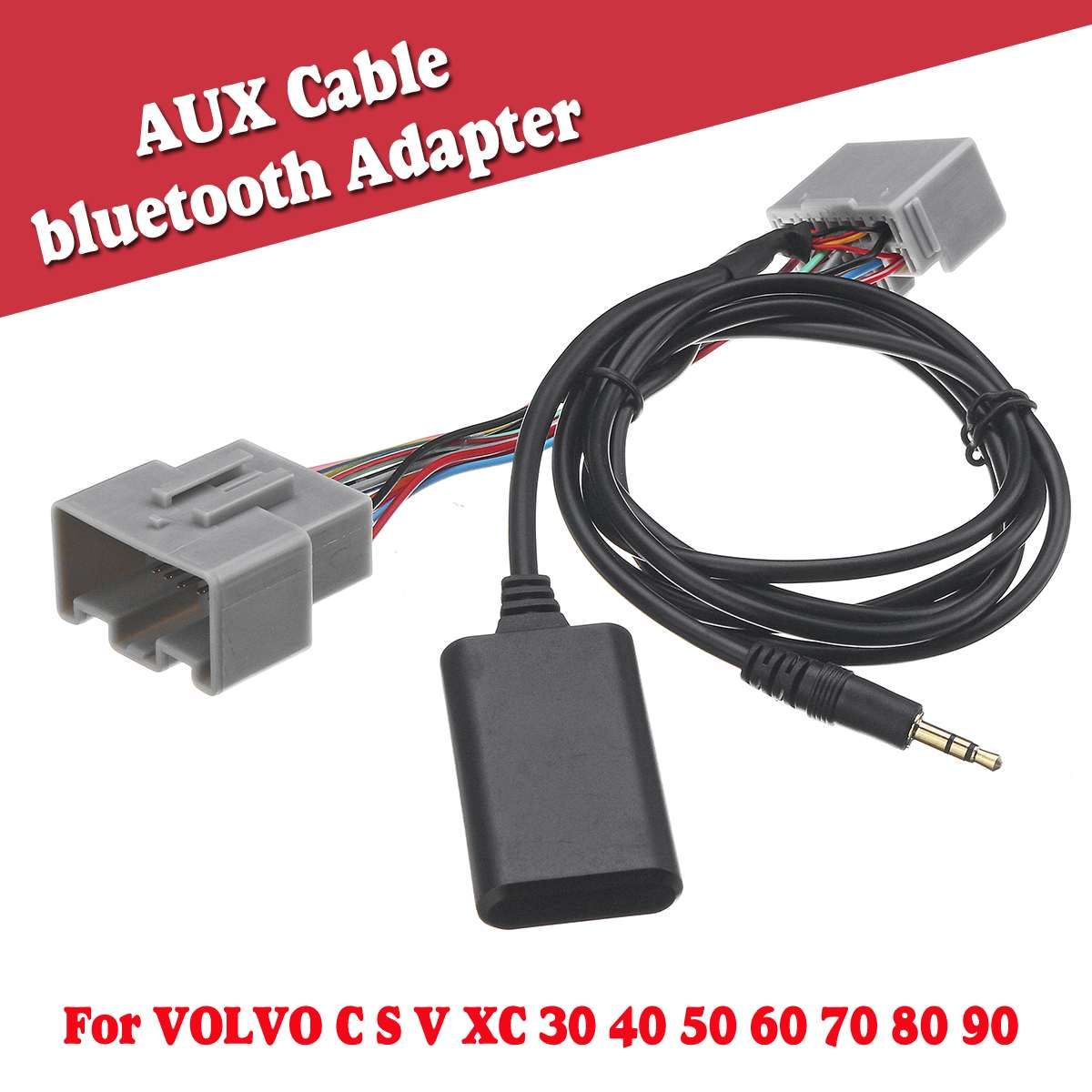 Car bluetooth Adapter AUX Audio Radio Receiver Cable for <font><b>VOLVO</b></font> C S V <font><b>XC</b></font> 30 40 50 60 70 80 <font><b>90</b></font> image