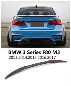 Spojler z włókna węglowego dla BMW serii 3 M3 F80 2013-2019 wysokiej jakości tylne skrzydło spoilery Auto