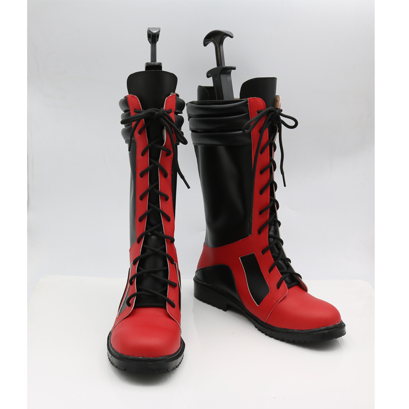 X-Men Deadpool Cosplay Shoes Boots Custom Made