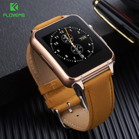 FLOVEME Sport Smart Watch Bluetooth 3.0 Smartwatch Anti-lost Women Man Sync Gesture Recognition Smart Watches SIM Card Support