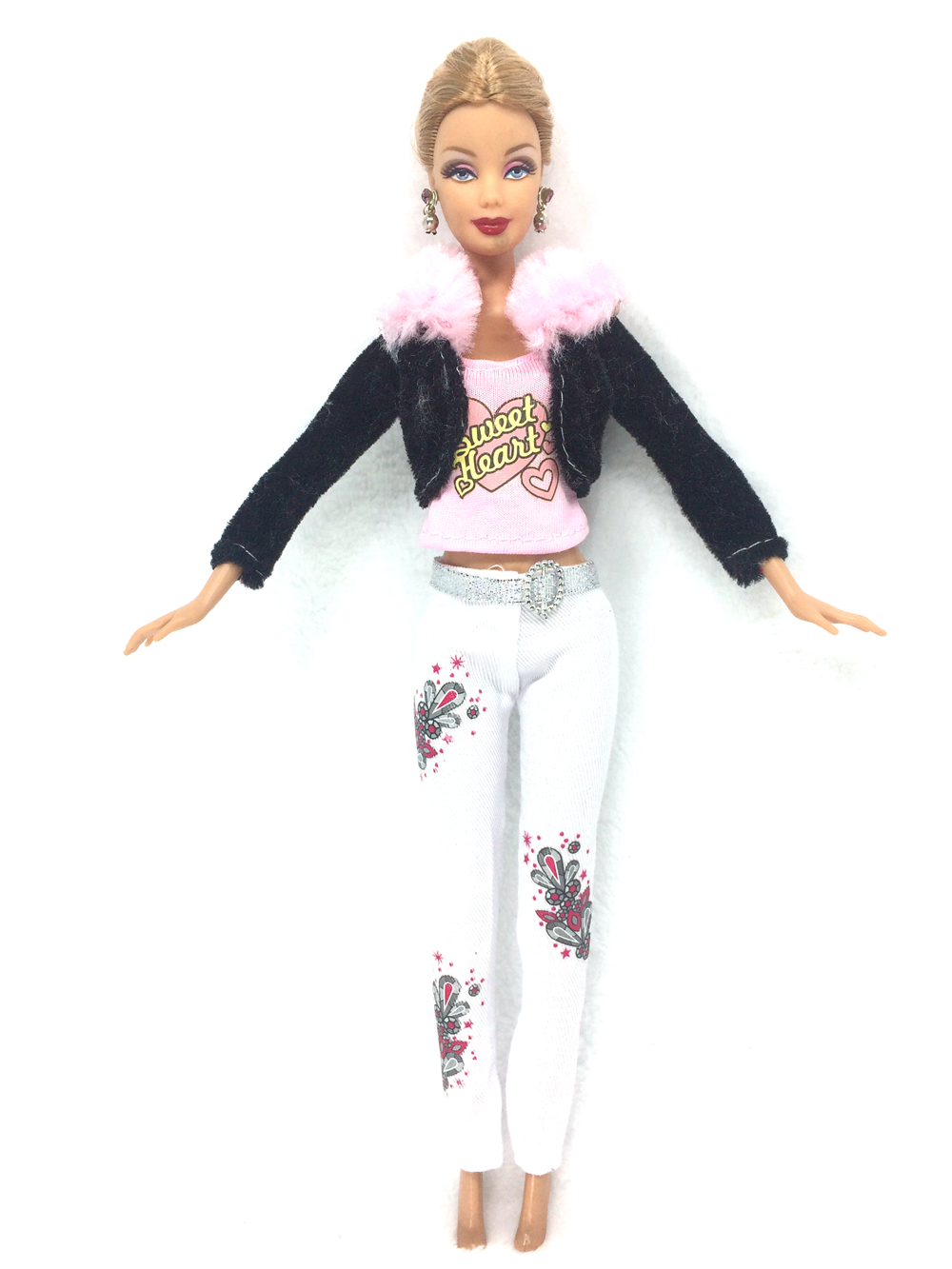 NK 2016 Latest Doll outift  Stunning Handmade Occasion Garments Prime Vogue Design For Barbie Noble Doll Greatest Youngster Ladies'Reward 014B