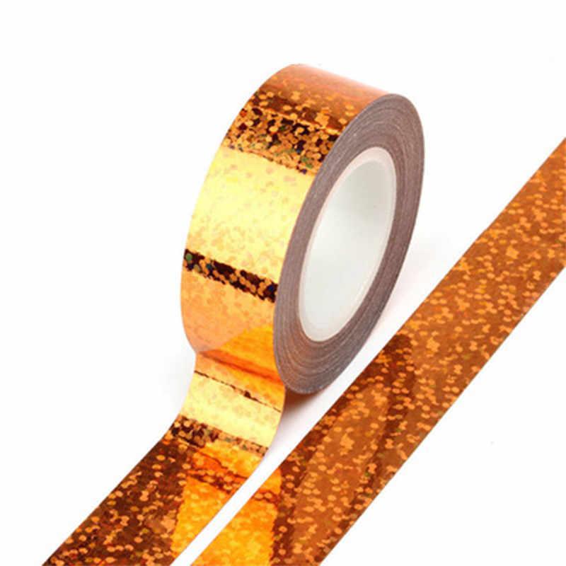 จังหวะยิมนาสติกตกแต่ง Holographic เทป Prismatic เทป Gimnasia Ritmica ศิลปะ Hoops Stick อุปกรณ์เสริม