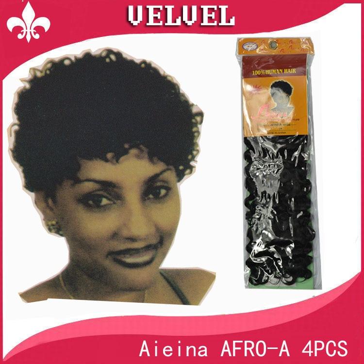 Aieina AFRO A 4PCS Afro Braiding Hair Blended Hair Weave ...