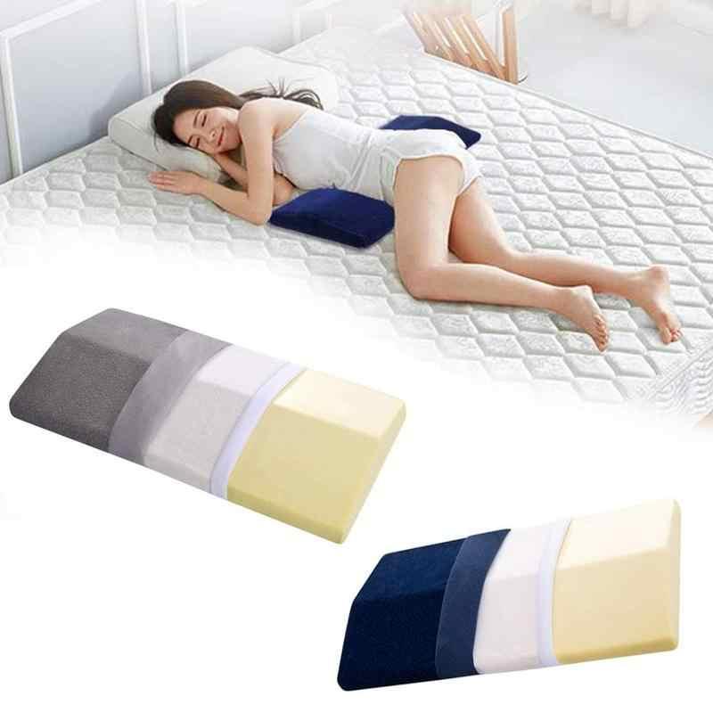 1 шт., подушка под поясницу для беременных женщин, хлопковая задняя подушка, диванная подушка под спину, поясничная Подушка для сна, подушка под поясницу треугольная подушка
