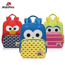 RUIPAI cartoon cute printing backpack kid school bag high qu