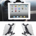 Universal car air vent mount sostenedor de la horquilla para el ipad 2/3/4/5 tablet shipping & wholesales libre