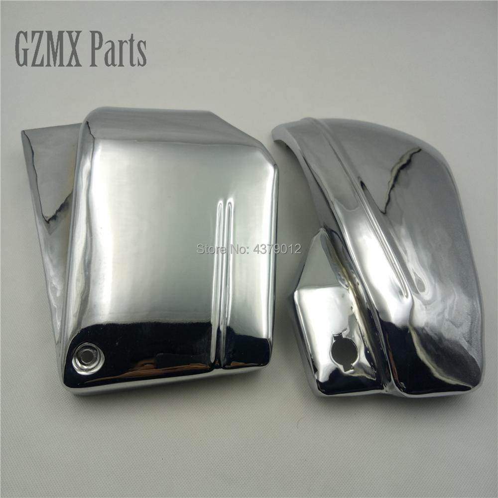 For Yamaha Dragstar V Star 650 XVS 650 650A Drag Star 650 XVS650 XVS650A Motorbike Battery Side Fairing Cover Guard Protect-in Covers & Ornamental Mouldings from Automobiles & Motorcycles    1