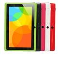 """7 """"A33 Quad Core 1.5 GHz quatro Cores Q88 7 polegada Tablet PC 1024x600 Dual Camera 2800 mAh 8 GB Android Tablet"""