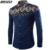 2017 Nuevos Hombres de La Moda Otoño Da Vuelta-abajo Camisa Larga Impresa Hombres de la Camisa de Algodón de manga Casual Blusa Mujer Plus Tamaño 4XL MXB0281