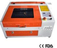 Zodo4040 50W lazer oyma kesme makinesi ücretsiz özbekistan'a demiryolu taşımacılığı
