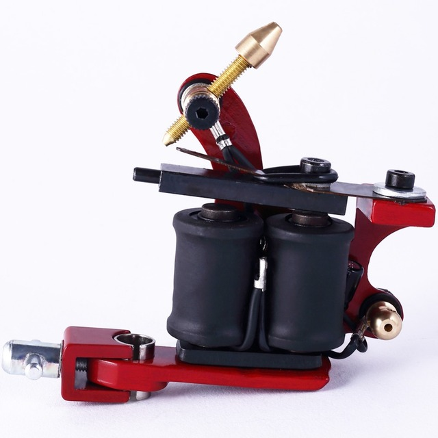 Tattoo Gun Rotary Tattoo Maschine Shader & Liner 3 Farben Tatoo Gun Kits Power Versorgung Für Künstler Permanent Make-Up Maschine