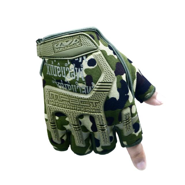 Cool style Camouflage fitness Breathable Glovess