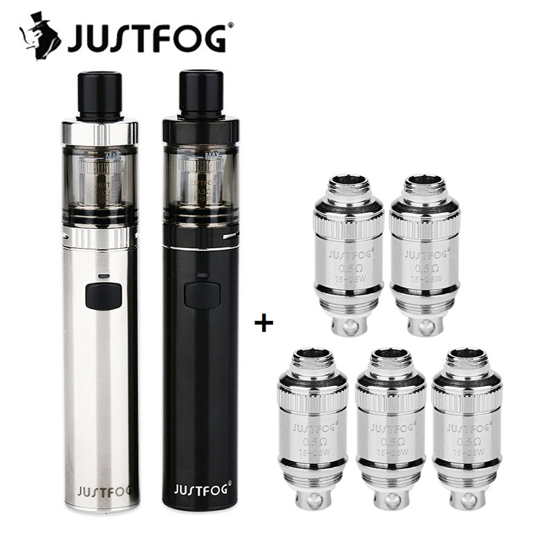 Original JUSTFOG FOG1 Kit 1500mAh With 2ml Capacity Tank & 0.5ohm/0.8ohm Coil Head Top Filling Design E-cigarette Starter Kit