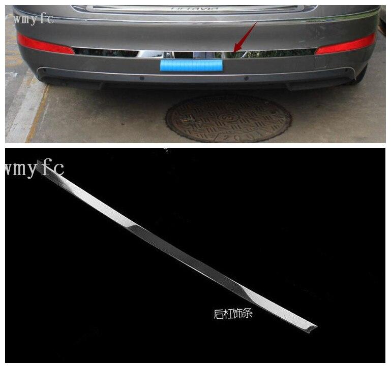 Skoda Superb B 2 Estate Rear Bumper Protector Guard Trim Cover Chrome Sill Lip