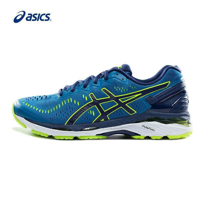 Оригинальный Новое поступление Аутентичные ASICS GEL KAYANO 23 стабильные кроссовки мужская обувь Нескользящая дышащая