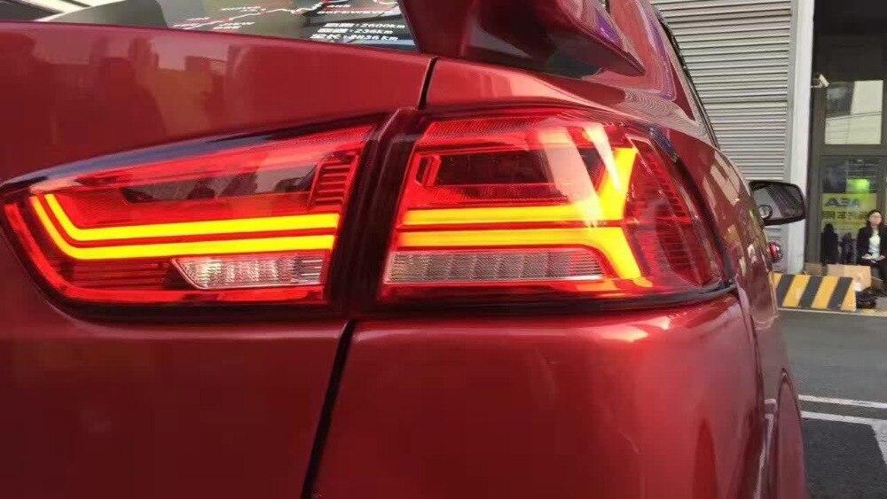 Car Styling for Mitsubishi Lancer taillights LED 2008 2015 car accessories Lancer Lamp Eclipse verada Triton