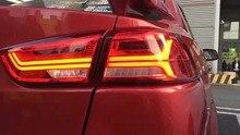 Автомобильный Стайлинг для Mitsubishi Lancer задние фонари светодиодный 2008 ~ 2015 автомобильные аксессуары Lancer лампа Eclipse, verada, Triton, Lancer задний свет